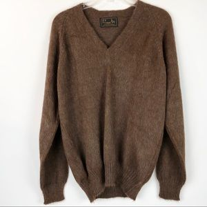 BH International Sweater Sz M Alpaca Long Sleeve